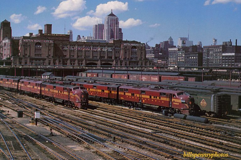 PRR Coach Yard Chicago, photo billspennsyphotos