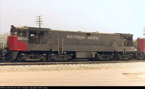 GE U50b Southern Pacific  (image by RRPicturesArchives.net)