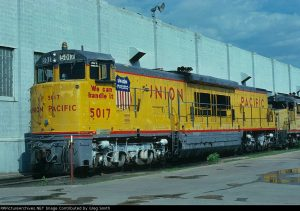 GE U50c Union Pacific  (image by RPicturesArchives.net)