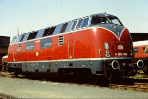Here is a German V-200 used on the DB starting in 1953, photo curbsideclassic.com