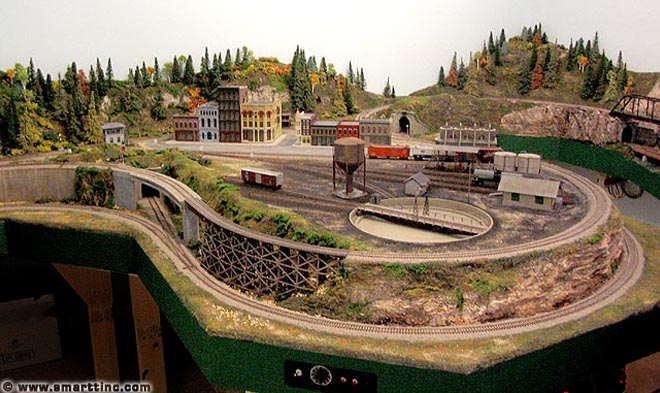 ho scale 12 ft x 13 ft