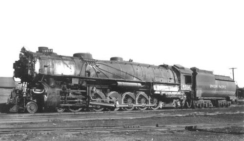 UP 9000 class 4-12-2, the largest non-articulated steam locomotive built in North America. Photo by Yester Year Depot