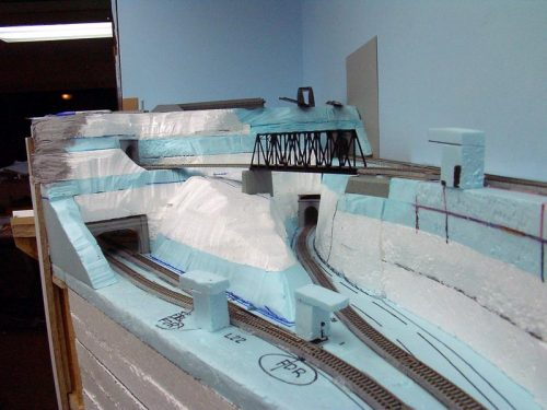 Foam scenery  photo from nscale.net forums .