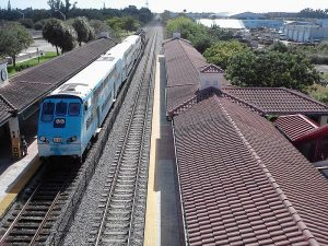 Tri Rail's new cab car. Photo from Wikipedia