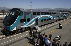 Metrolink new Hyundai Rotem cars Photo from Dailynews.com