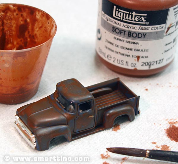 Tutorial – Rust in Peace: Adding Realistic Weathering to your Model