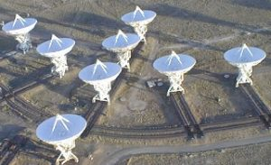 New Mexico's Very Large Array (VLA) photo from http://www.vla.nrao.edu/