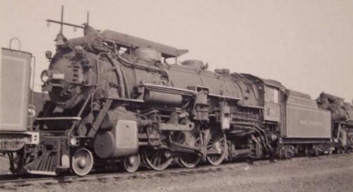 Southern Railway Rat Hole PS-4 with smoke lifters. Photo Railfan.net.
