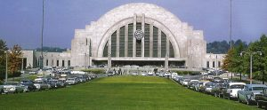 CUT in the 1950's, thankfully the building was saved and is now the city's art museum. Photo, Model Railroad News.