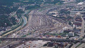 CSX Queens Gate Yard, photo Cincyrails.com