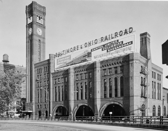 Grand Central Station Chicago Photo South Loop history