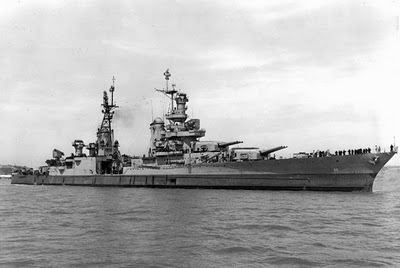 U.S. Navy photo, USS Indianapolis