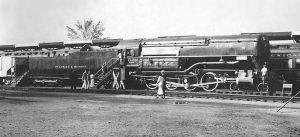 "D&H 4-8-0 #1403 the ""L F Loree"", photo by Cecil Wickham"