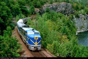 Here is some of the D&H RR breathtaking scenery along Lake Champlain. Photo from RailPictures.net by John Dziobko