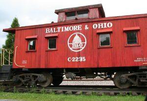 Classic Little Red Caboose. Photo from mousemedicine.com