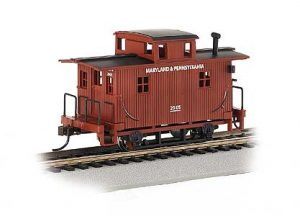 HO Plastic caboose Photo by Euro Models