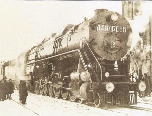 UP 9000USSR 4-14-4 steam locomotive the largest non-articulate ever built. Photo www.parovoz.com/gallery/UN/landreev.jpg