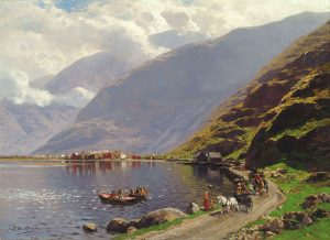 The Sognefjord. photo fromWikipedia