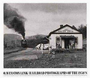 O Winston Link photos of the Abington branch's Virginia Creeper