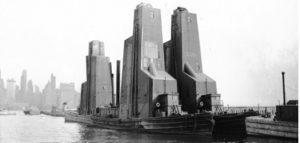 Floating grain elevators Photo, Rail-Marine information group