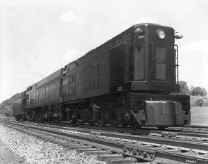 Norfolk and Western Railroad John Henry Steam Turbine locomotive Photo N&W Railroad