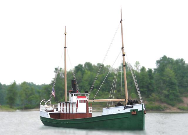 HO-1121 Pacific Coast Lumber Boat - Tiverton $194.95