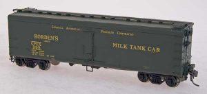 Intermountain Railways 40' steel milk car, Photo Intermountain Railways