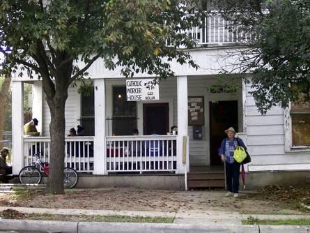 A Catholic Worker House, photo San Antonio CW