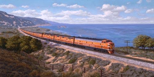 SP Coast Daylight Photo Cruse line History
