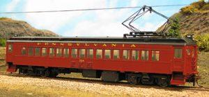 0001-94513 Pennsy Coach with Postwar Paint Scheme