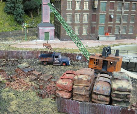 Rust is a part of life, and should be a part of your miniature scenes.