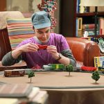 Big Bang Theory's Dr. Sheldon Cooper shares the joy of HO model railroading. BBT Photo from http://cprailmmsub.blogspot.com