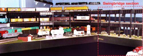 The SMARTT industrial steel double decker swing bridge