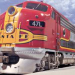 Walthers' War-bonnetted Super Chief takes to the rails