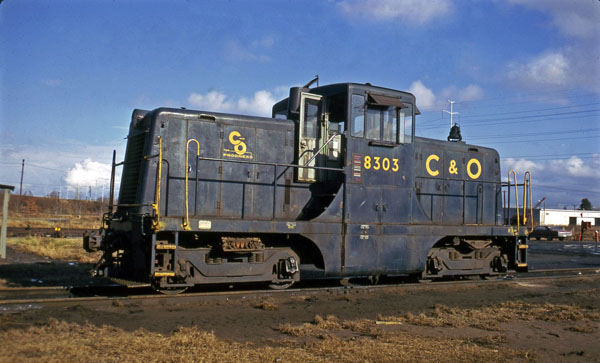 A C&O 44 tonner, these engines were small but handsome. photo from blogspot.com.