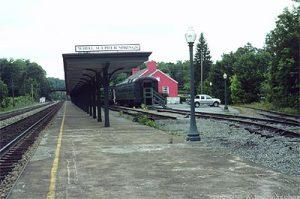 White Sulphur Springs platform (Photo by Morscher.com)